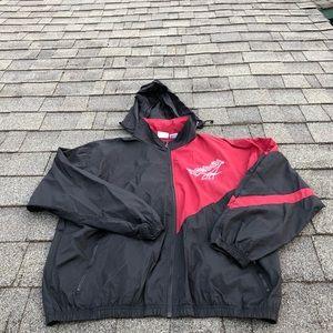 VINTAGE Reebok Zip Up Hooded Jacket SZ XL